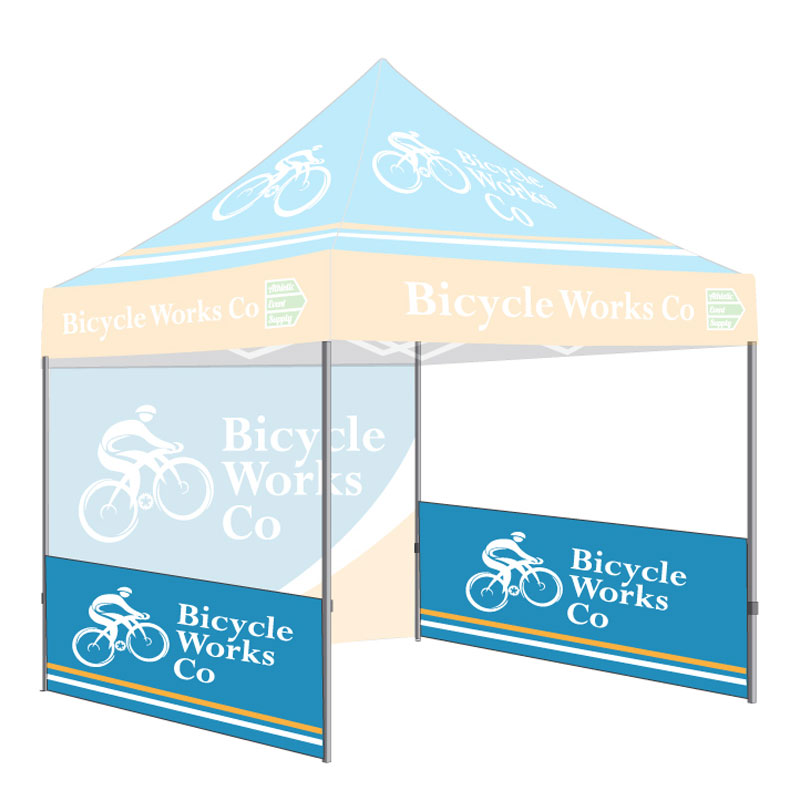 Tent Sidewall Kit Double Sided 2 Sidewalls 2 Support