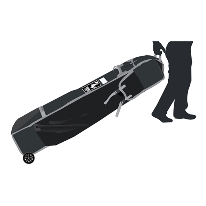 Heavy Duty Tent Rolling Bag 20x10 Athletic Event Supply