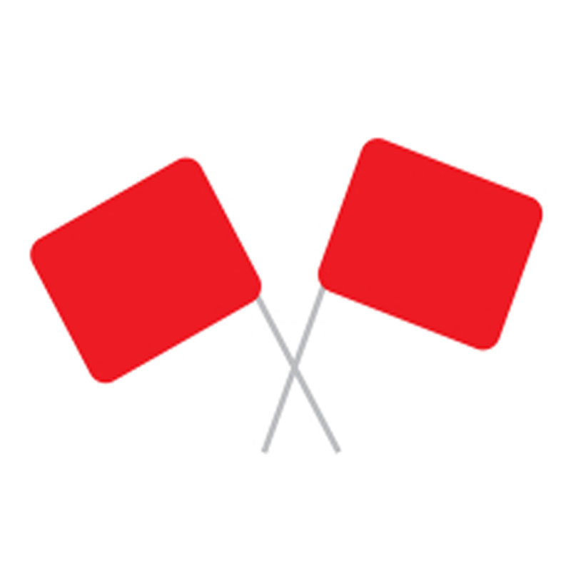 Safety Flags Athletic Event Supply