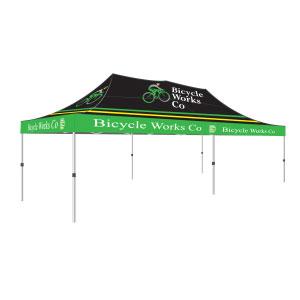 10u0027 x 20u0027 Canopy Tent Aluminum Hex Frame Full Print Roof - Athletic Event Supply  sc 1 st  Athletic Event Supply & 10u0027 x 20u0027 Canopy Tent Aluminum Hex Frame Full Print Roof ...