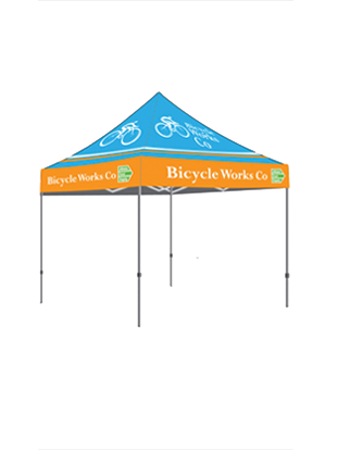 Custom Tents with Logos – Unlimited Colors