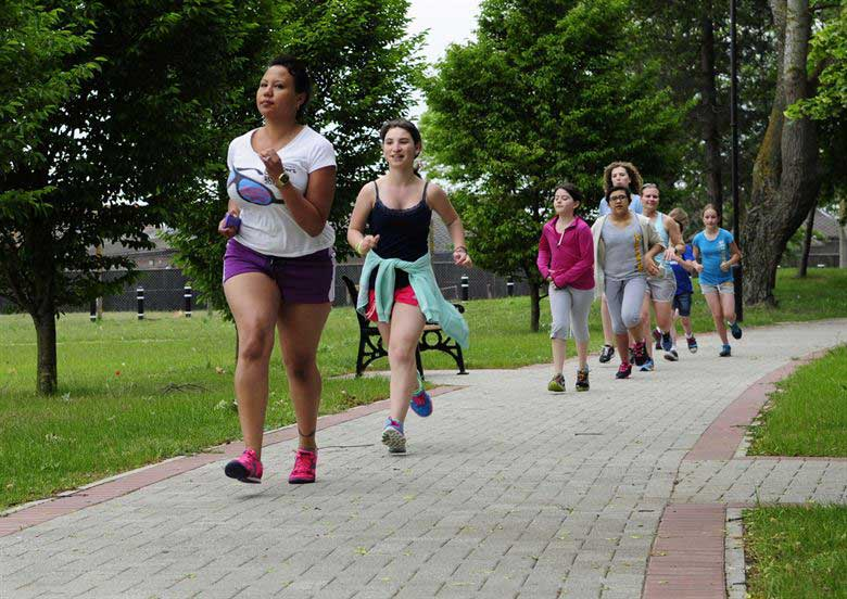Consider joining a social running club for one of your weekly sessions.
